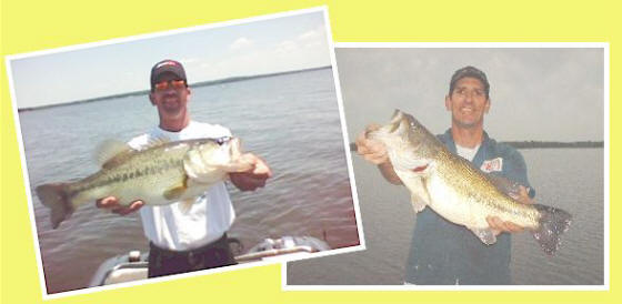 Trophy bass fishing on Lake Fork, Texas